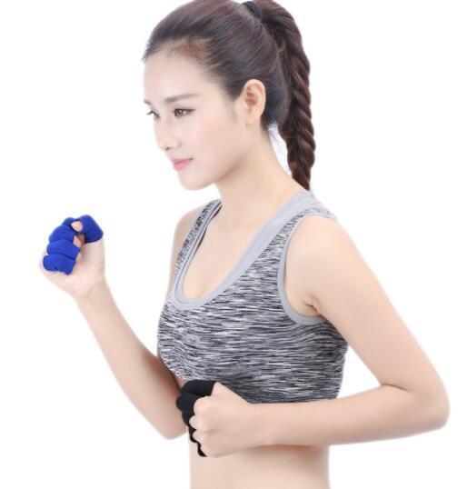 2019 Nylon sport sanitario FingerGuard basket FingerGuard una serie di protettori 10 sport di esercitazione uomini respirabili di sicurezza Sport donne