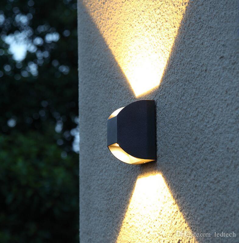 IP65 Étanche 7 W Intérieur Extérieur Led Mur Lampe Moderne En Aluminium réglable Surface Monté Cube Led jardin porche lumière