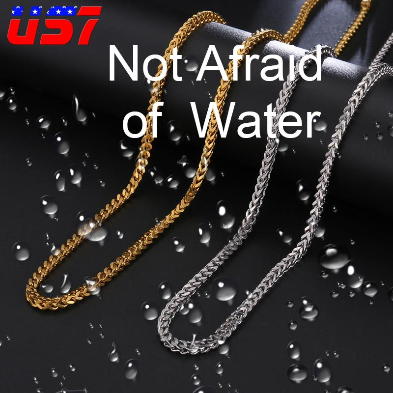 Jewelry Necklaces Chains Stainless Steel Polished 24in Box Chain Necklace