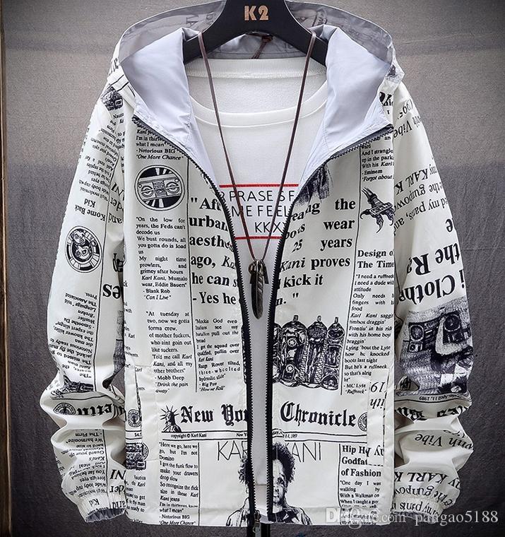 El último diseño en el exquisito diseño 3D mundo de la impresión de la solapa de campana de manga larga con la chaqueta de los hombres ocasionales en ambos lados