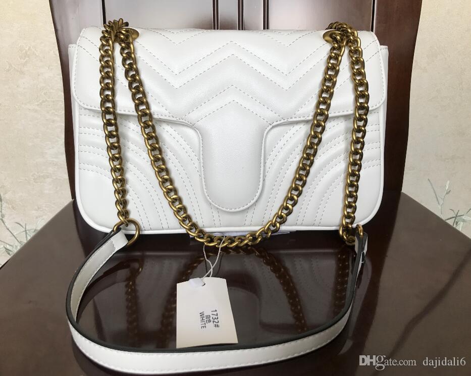 weisefrauenentwerfers Handtaschen Schulterkurier Luxus diagonale Taschen-Kettenbeutel gute Qualität PU-Leder Geldbörsen Damen Handtasche