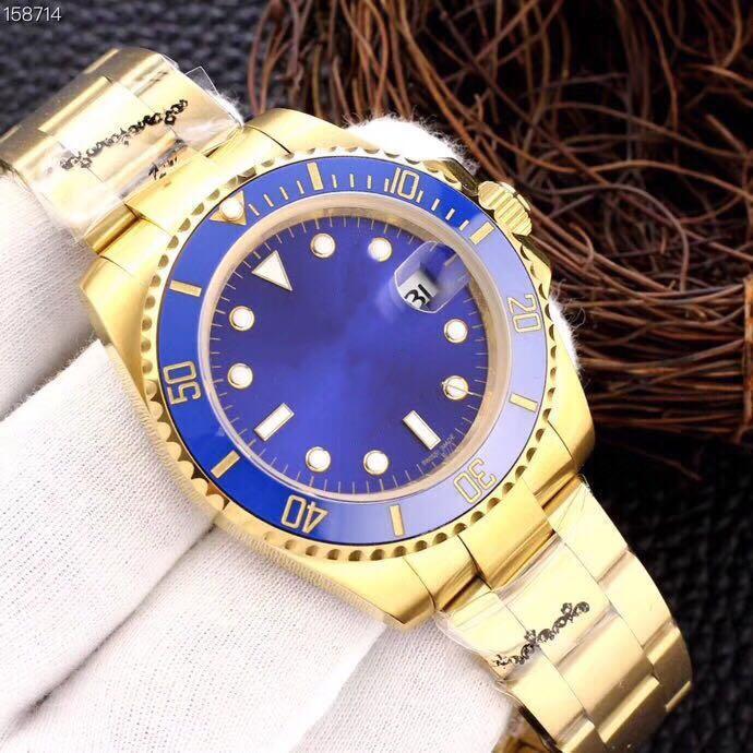 Super 11 montre DE luxe ceramic collar 316L fine steel strap fully automatic watch mechanical movement 42mm waterproof 100m