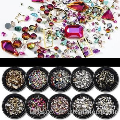 Нью-Йорк шторм алмазы горячие популярные INS плоские аксессуары смешанного размера флэш-гвоздь палку гидравлическая дрель
