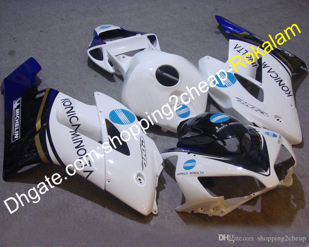 Мотоцикл оформление детали для Honda 2004 2005 CBR1000RR CBR CBR1000 1000RR RR 04 05 белый черный синий мотоцикл капот (литье под давлением)