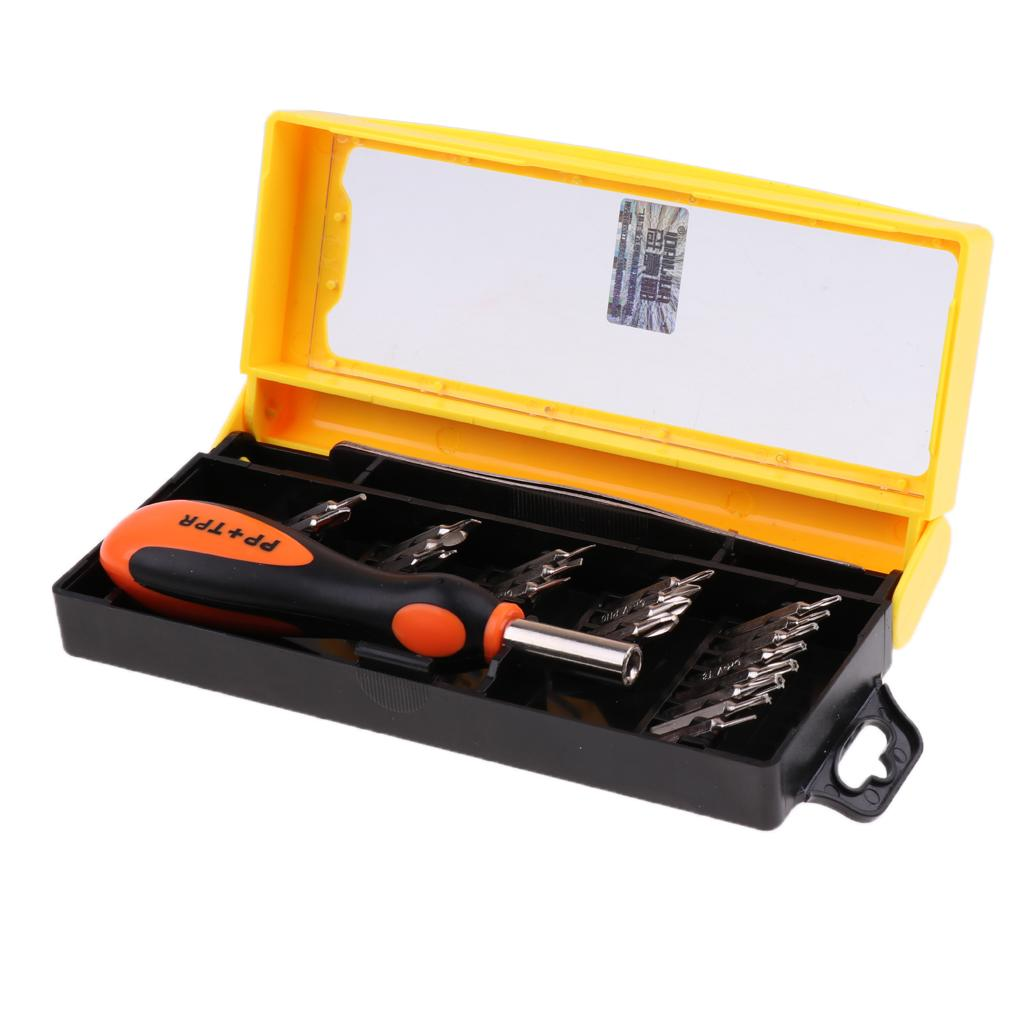 22In1 Opening Repair Tools Kit Screwdriver Accessories for Slotted/Phillips