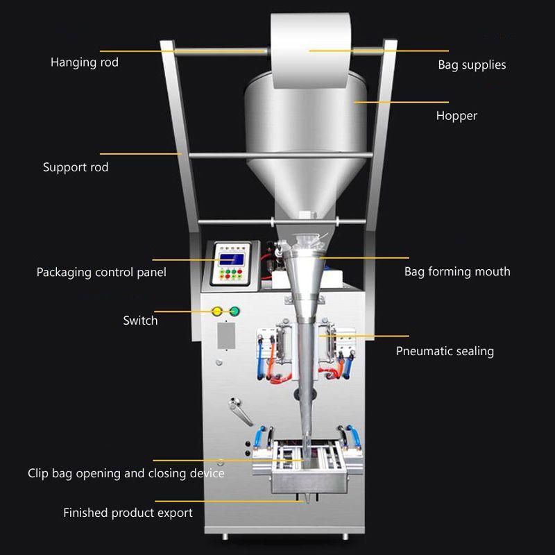 sos biber sosu zeytinyağı kremi üç tarafı mühür arka mühür dolum paketleme makinası domates fıstık ezmesi için makineyi Packaging