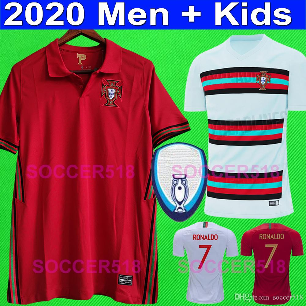 2020 2022 RONALDO soccer jersey BERNARDO PEREIRA kids kits PIZZI football shirts FERNANDES DIOGO J. GUERREIRO 2018 2019 soccer jerseys