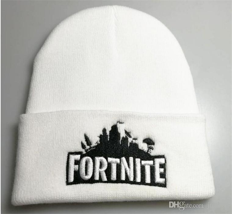 Compre Fortnite Battle Knitting Caps Mens Game Cap Beanie De Punto ...