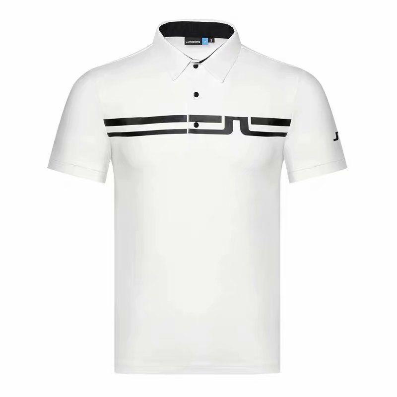 manica corta sportivo traspirante nuovi uomini JL Golf T-shirt 4 colori di golf vestiti S-XXL a scelta bicchierino di svago Golf camicia di trasporto