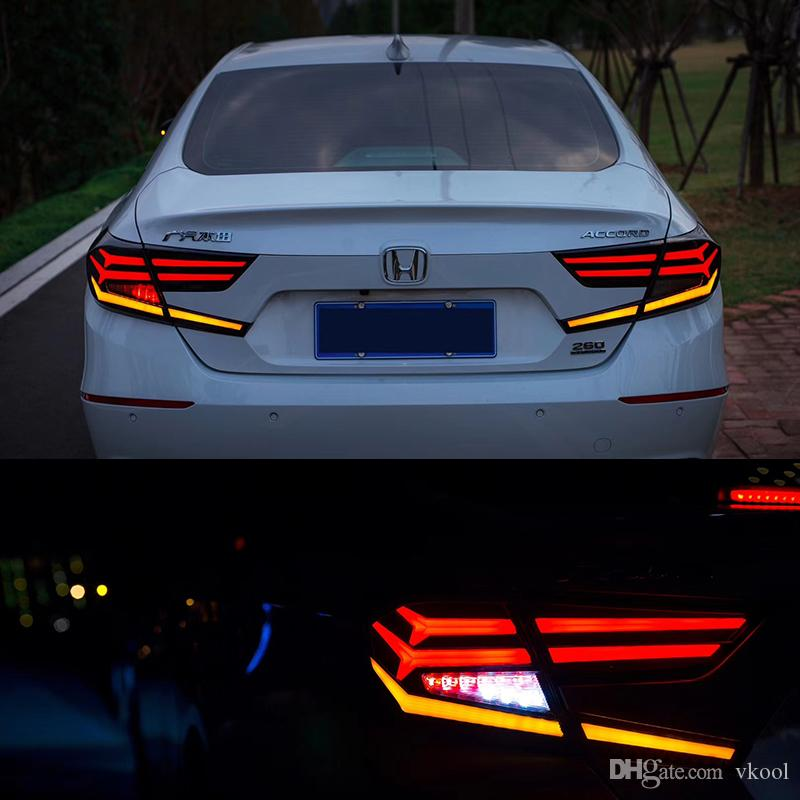 2021 2018 2019 Year Led Rear Lights For Honda Accord X 10th Car Tail Light Led Lamp Braking Light Turn Signal Light From Vkool 642 02 Dhgate Com