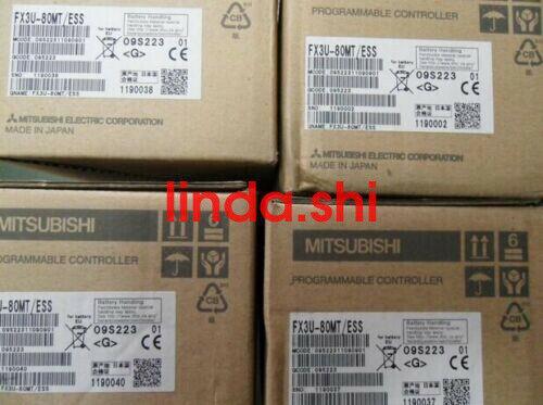 1 adet Mitsubishi PLC FX3U-80MT-ESS Yeni
