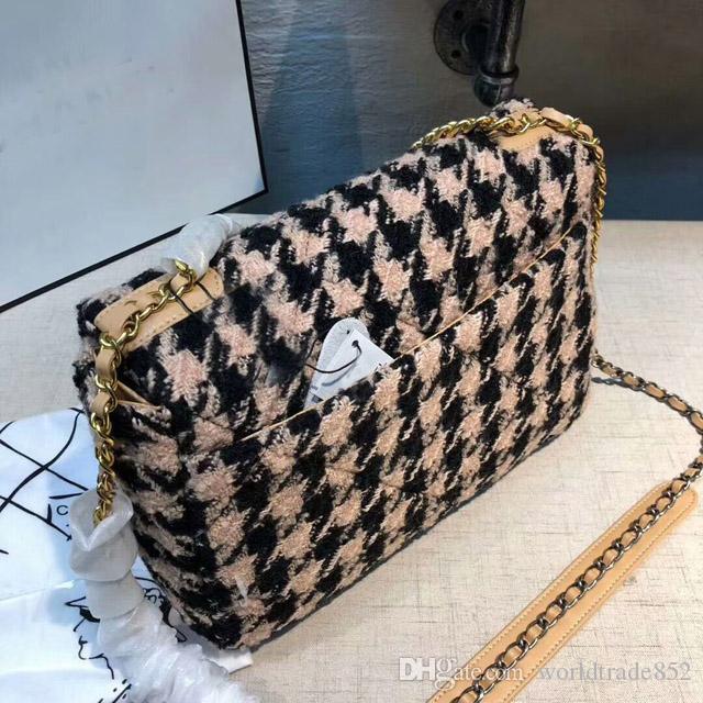 30CM New Moda feminina pano tecido Engula gird Cadeia ombro saco Messenger Bag Bolsas da bolsa da carteira de alta qualidade Bandoleira Sacos