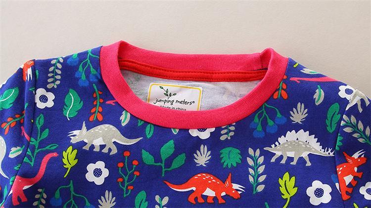 8 Styles Designer desenhos animados de algodão listrado Princess Dress crianças Roupa para meninas Primavera Outono Vestido bebê Roupa Túnica meninas Vestidos TFJ158