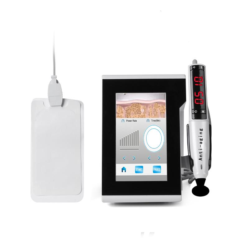 جودة عالية!!! آلة تردد البلازما القلم RF راديو للعيون رفع أكياس مكافحة الجمال العين سبا استخدام المنزلي الجمال الصحة