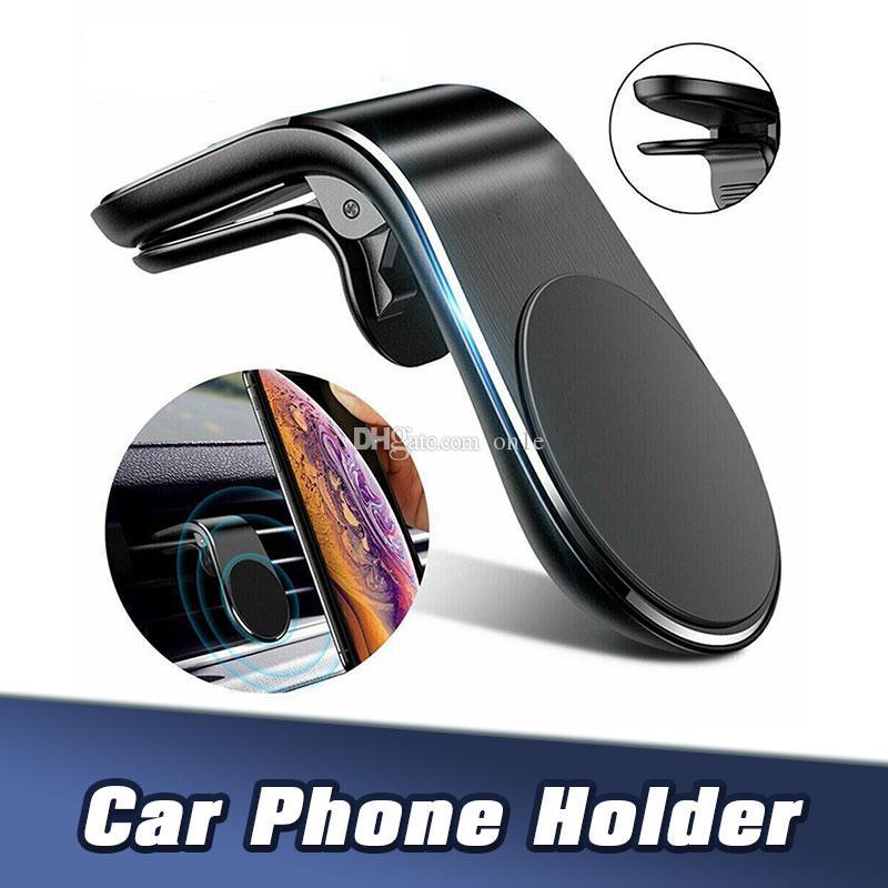 Pour Samsung S20 Support magnétique Vent Mont Air voiture Téléphone de voiture Support à aimant support portable Support De Voiture Voiture