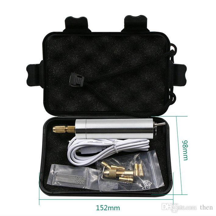 Mini USB Charging Micro Electric Hand Drill Rotary Drill Cutting Drilling Set Grinding Sculpture Tools Wholesale 20set/lot
