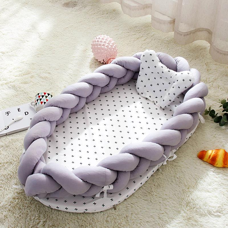 Tragbare Babybett Nest Bett Baby-Bionic Bett schlafen Multi-Function Folding Anti-Pressure Bionic Nest Unisex Bett Krippe Travel 14 Styles