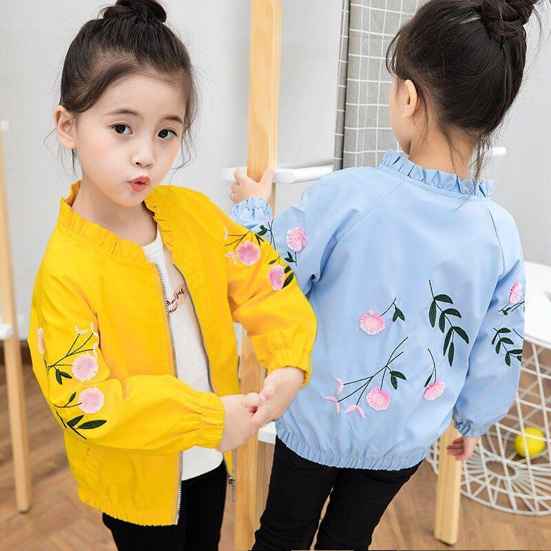 2020 Girls Jacket New Autumn Kids Jackets for Girls Outerwear Long Sleeve Spring Coats for Sports Jacket Children Clothing