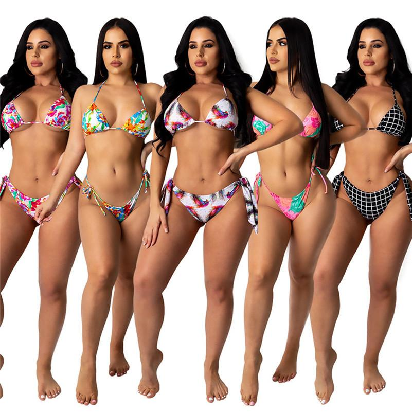 Marque designer Bikini Mode maillot de bain de maillot de bain sexy Maillot de bain Beachwear Haute Qualité Summer Tankinis 3470