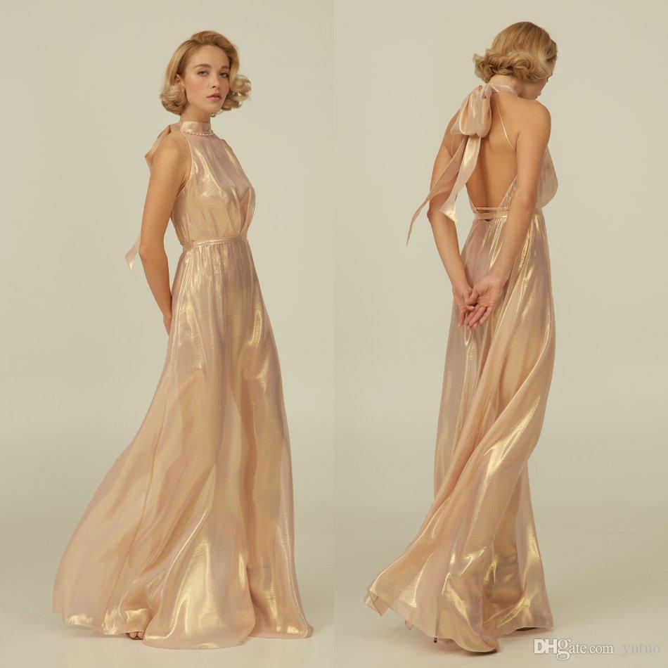 Halter Bling Luxury Elbise Kadınlar Robe A-Line Backless pijamalar Tam Boy Bornoz Pijama 2020 Yeni Balo Gelinlik Ev Giyim Shawel