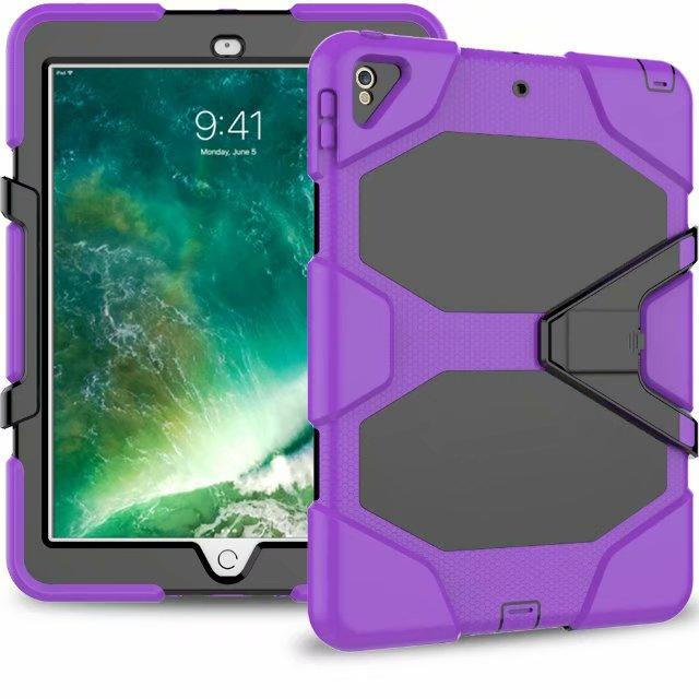 Military Heavy Duty ShockProof Rugged Impact Hybrid Tough Armor Case For IPAD 2 3 4 AIR 4 3 PRO 9.7 10.5 10.2 pro 11 2020 1pc/lot