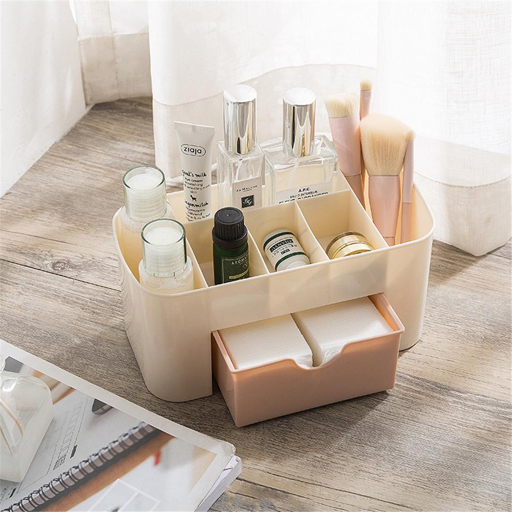 RASABOX - Makyaj Fırçası Tutucu Kozmetik Organizatör Depolama Küp Takı Çekmeceler Vaka Banyo Dresser Vanity için