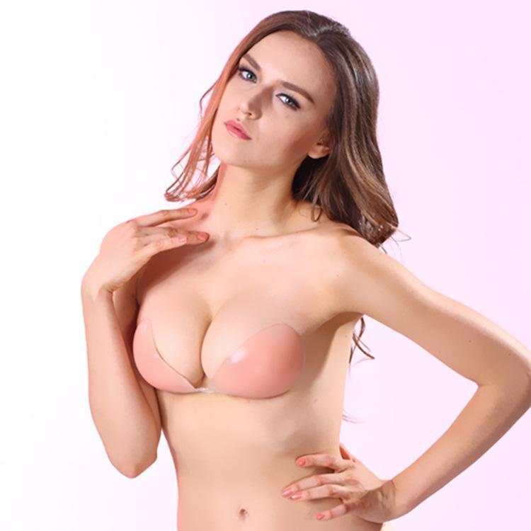 مثير البرازيلي سيليكون ملابس داخلية غير مرئية الثدي تعزيز كأس ABCD شحن مجاني ملابس داخلية اللباس اكسسوارات سلس الملابس الداخلية