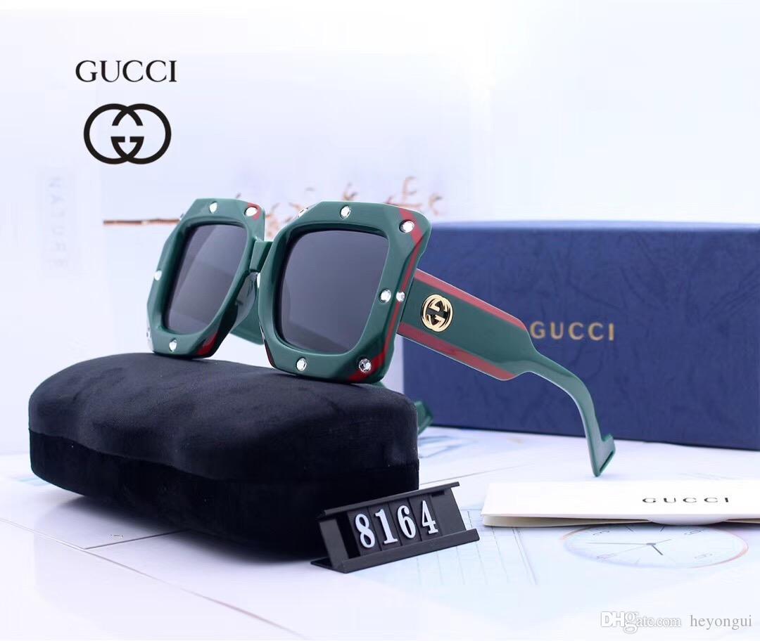 2018 Erkek Vintage Kare Güneş Gözlüğü Lens Gözlük Aksesuarları Erkek Güneş Gözlükleri Erkekler Kadınlar Için 2501
