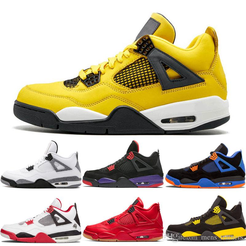 Hot Sale 4 4s Basketball Shoes For Men
