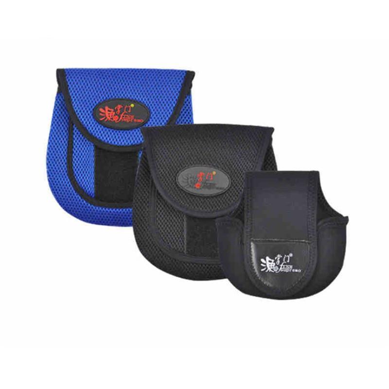 Schutz-Fischen-Rad-Gerät-Beutel Mesh-Stoff Angelrolle Tasche Multi-Purpose-Schutzüberzug-Fall-Beutel-Reel-Speicher-Halter