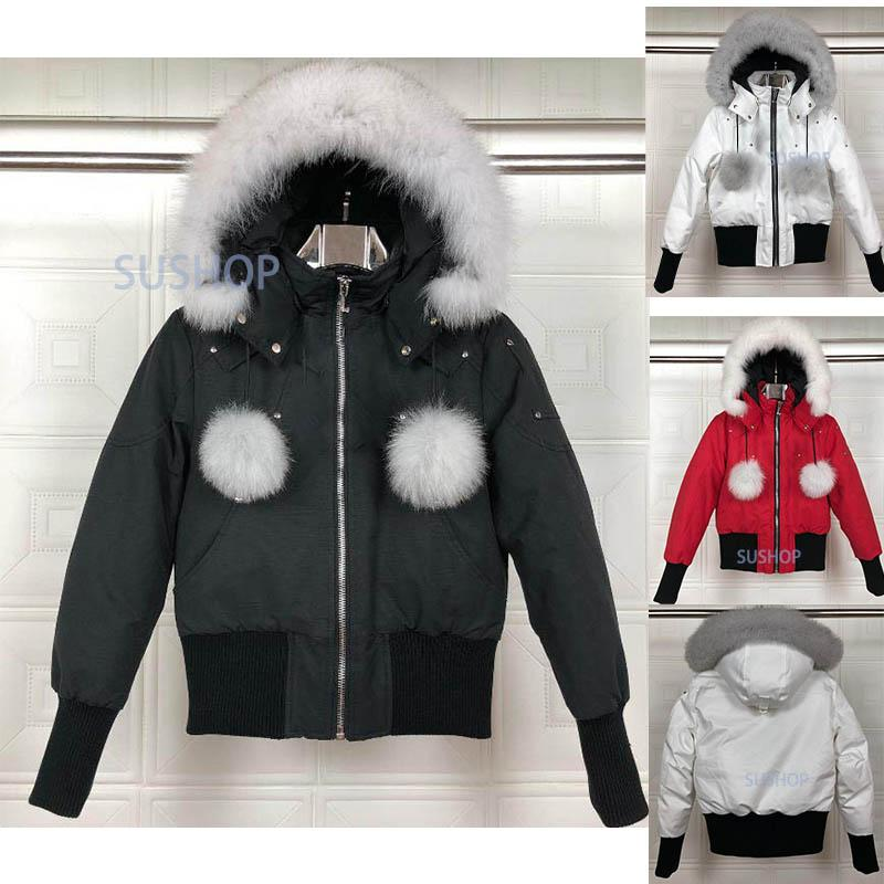 Женщины зимние пальто на открытом воздухе меховой пуховик теплый ветрозащитный пальто утолщенные куртки с капюшоном Manteas Doudoune женская верхняя одежда