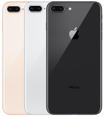 """Reformado Desbloqueado Apple iPhone 8 Plus LTE Telefone Móvel 256G / 64G ROM ROM 3GB Ram Hexa Core 12.0MP 5,5 """"IOS Disponível Disponível Celular"""