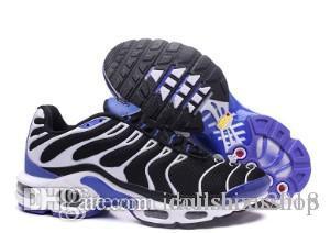 Großhandel Laufschuhe Olivrot TN Schuhe Sneakers 2019 Max Nike Plus Mode Erhöhte Salomon Schuhe Lässige Tns Air Blau Air Schwarz Herren Belüftung Neue TKJ3Fcul1