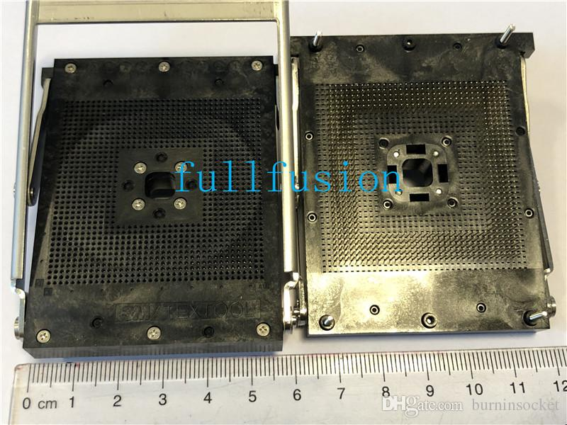 2560-1361-SB-3302 PGA560 IC test Soket 1.27 Eğim 3M Textool SPGA Soket En ızgara 37x37