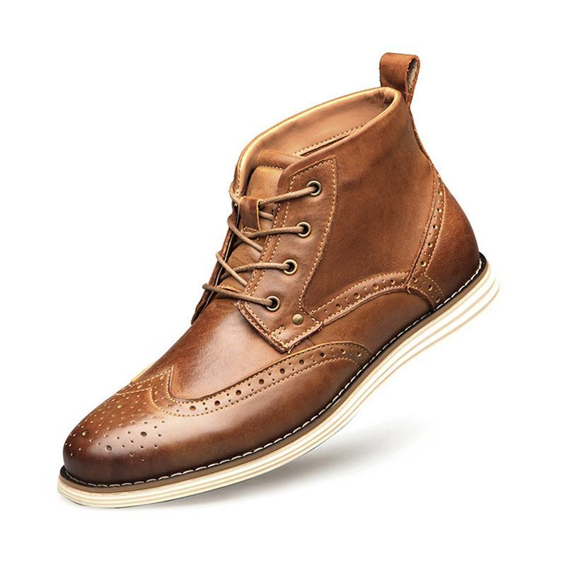 Männer formaler Kleid-Schuhe spitze Zehe-echtes Leder-Top-Boot-Designer Oxfords Freizeit-Schuhe Gentle Party-Geschäfts-Hochzeit Schuhe mit Box