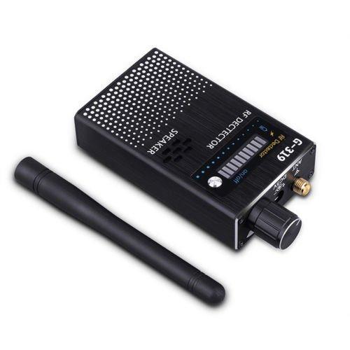 Set di rivelatori di segnale RF per telecamera anti-spy Bug GPS [Upgrade Enhanced], GPS Tracker Amplificazione telecamera wireless Sensibilità ultra alta