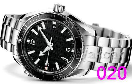 007 007 스카이 폴 A-2813 가죽 기계 남성용 오토매틱 무브먼트 시계는 자기 바람 시계 손목 시계 망