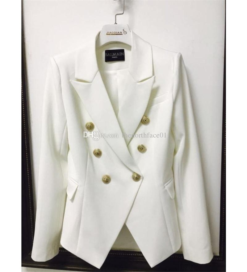 Balmain-Frauen-Kleidung Top Stylist Blazer Frauen Anzüge Coat Balmain Frauen Stylist Kleidung Jacke Größe S-XL
