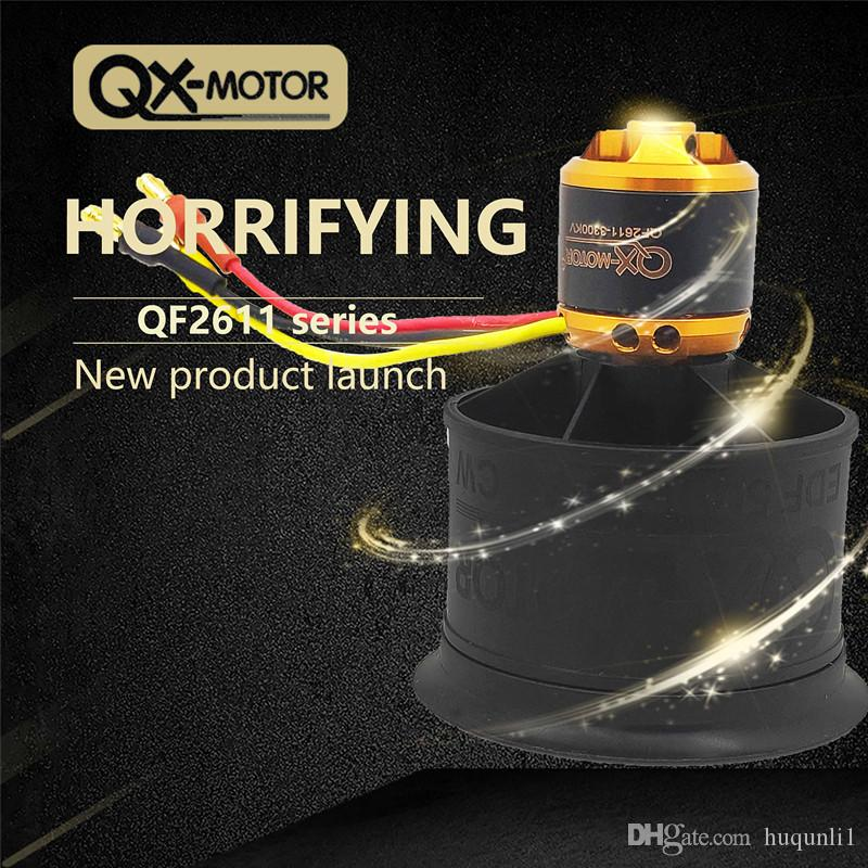 QX-Motor QF2611 3S/4S Lipo Brushless Motor For 50mm Ducted fan 12 blades Propellers CW CCW for RC Drone Aircraft
