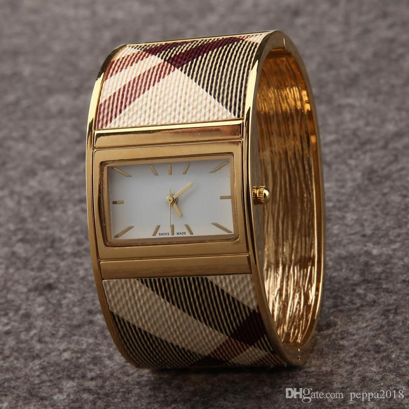 2019 nova chegada mulheres bangle dress watch relógios de pulso de aço de ouro de quartzo para senhora relógio feminino relojes mujer presentes caixa de relógio drop shipping