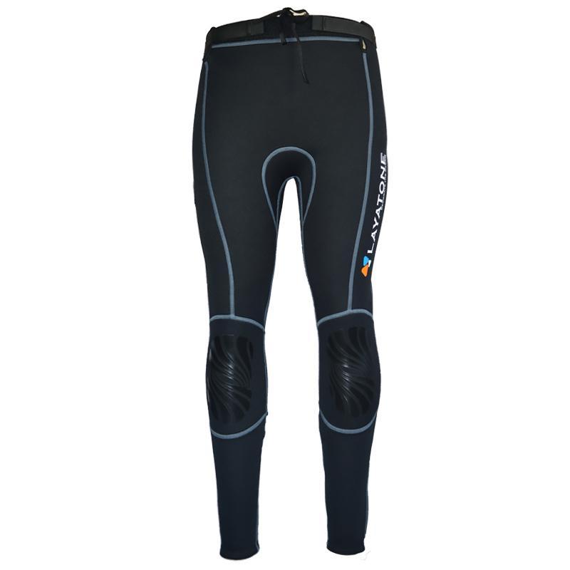 LayaTone 2mm/3mm traje de neopreno pantalones mujeres hombres buceo pantalones surf Snorkeling canoa natación pantalones Leggings traje