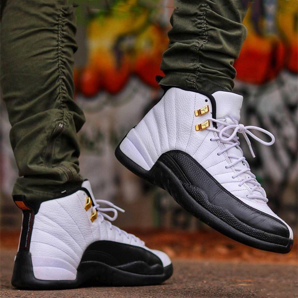 Salte al hombre Para Hombres Mujeres Formadores zapatillas de baloncesto 12 XII zapatos CNY TAXI diseño Deportes Alas Playoff Juego de la gripe de los zapatos corrientes