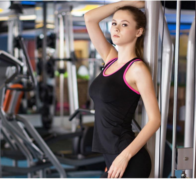 Spor Hızlı kurutma Sıkı Giyim Moda Günlük Spor Üst Yeni Preppy Stil varış Koşu Tasarımcı Spor Yelek Sıkı Eğitim Yoga Womens