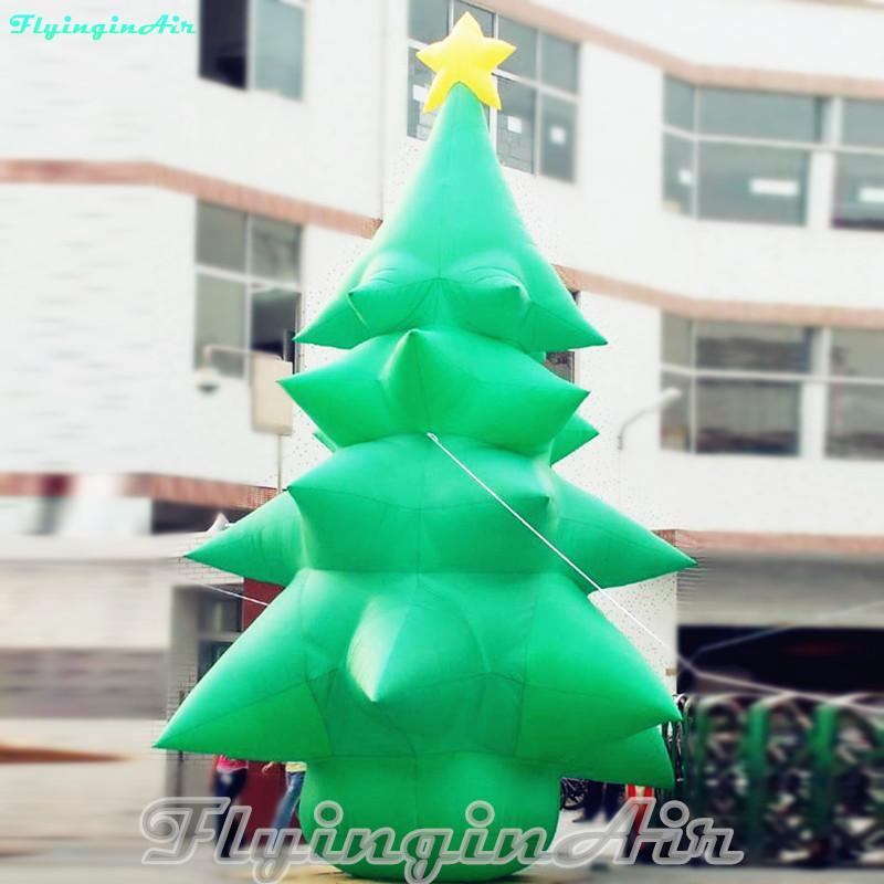 3m / 10' Natale decorativo gonfiato albero di Natale gonfiabile per