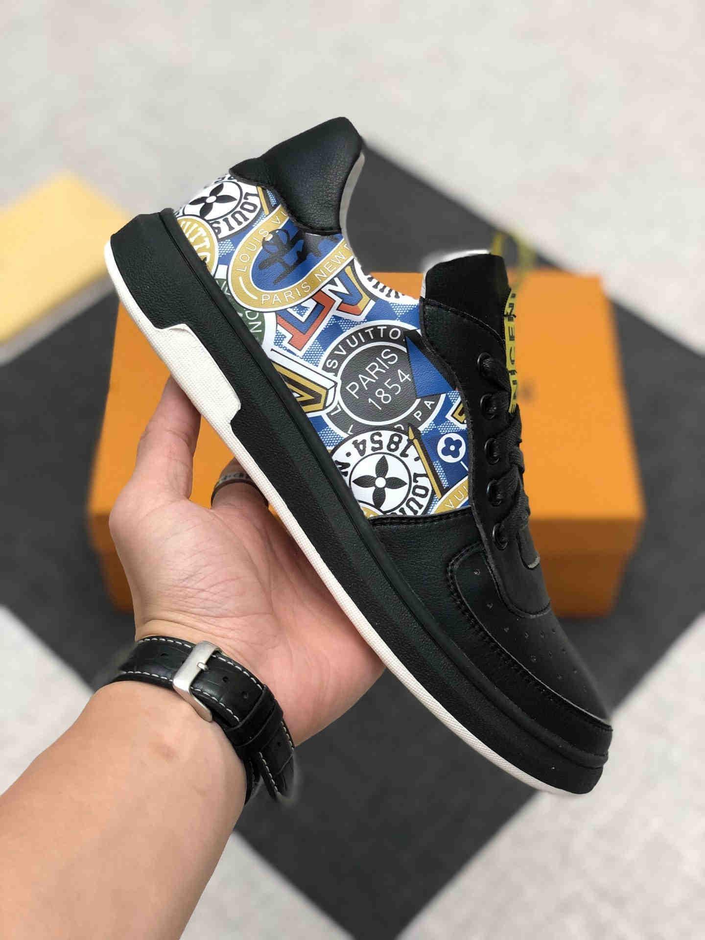 2020 YENİ WH erkek moda rahat ayakkabılar yüksek kaliteli erkek spor ayakkabısı lüks tasarım erkekler rahat ayakkabılar