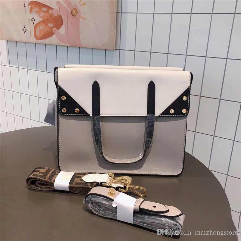 Designer Handtaschen F Handtasche große Kapazität Frauen Designer Taschen Mode Totes Echtleder Schulter Cross Body Geldbörsen Tasche