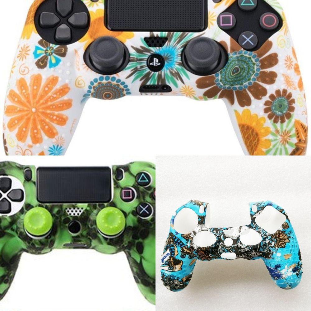 wgtpt camouflage personnalisé Boutons de logement Shell Pour PS4 Limited Edition contrôleur de remplacement Sony Playstation 4 Cases V1 Gamepad