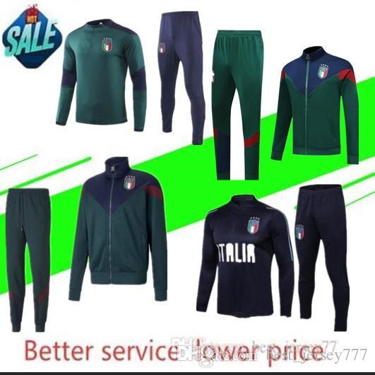 Italy soccer tracksuit 2019-2020 jogging ICARDI NAINGGOLAN HIGUAIN SUSO football training suit