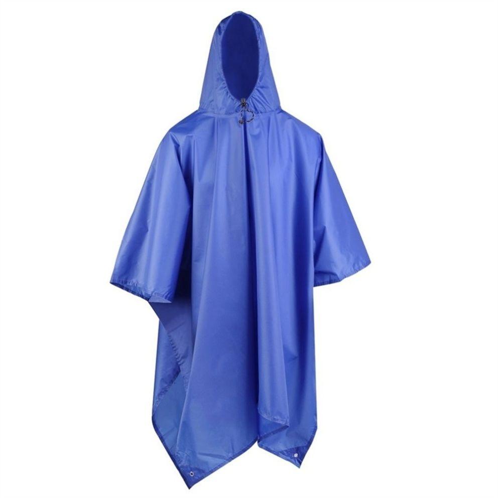 Adult Poncho Hooded Women Men Raincoat Outdoor  Waterproof Rain Coat Rainwear