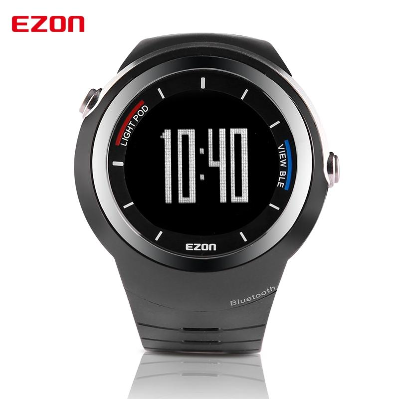 EZON S2 Bluetooth 4.0 Sports Smartwatch Call Reminder Pedometer Steps Counter Calories Men's Smart Watch for IOS and Android